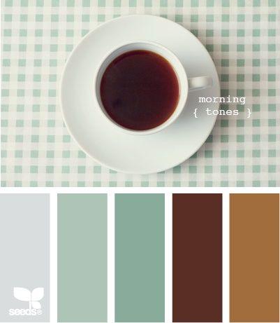 Teal Brown Color Palette