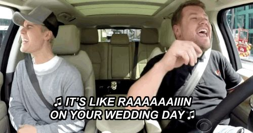 And his favourite song to sing in the shower.   Justin Bieber Joined James Corden For Carpool Karaoke And It Was Perfect