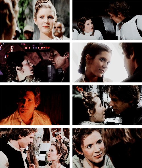 han and leia essay Before katniss, buffy and furiosa there was princess leia: the wisecracking   the pieces i've cited are just a few of the endless essays and fan.