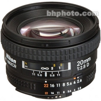 I want a good wide angle lens...I think I could spend 1 mil on camera supplies alone