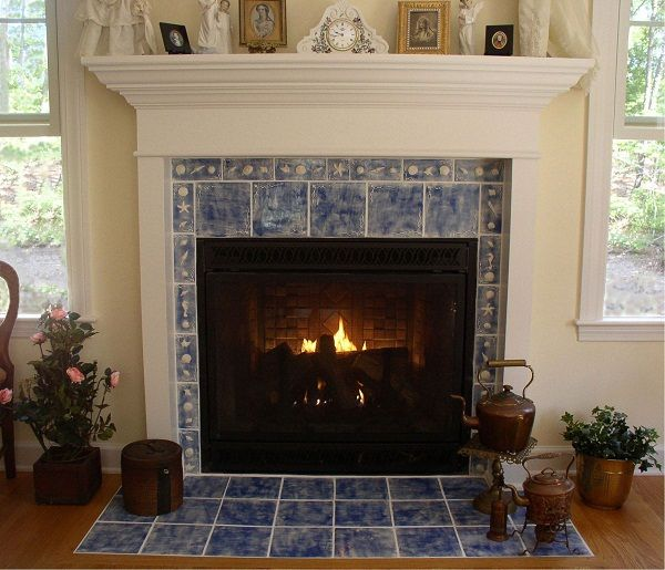 Tile Hearth: 17 Best Images About Fireplace Ideas On Pinterest