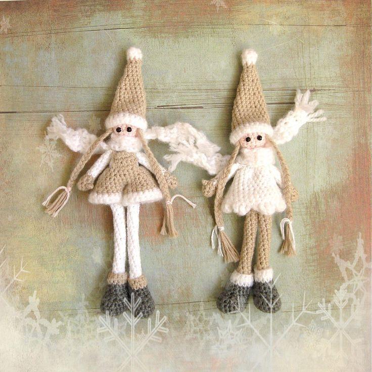 Free crochet pattern for gnome by H E L E N A * H A A K T