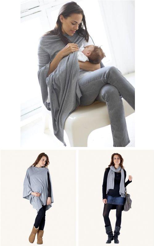 BabyStuf.nl - Séraphine, multi functional nursing shawl