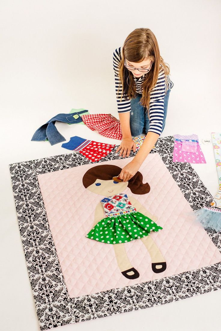 Have the best dressed Paper Doll Blanket on the block! Be sure to check out the latest in PDB fashion!