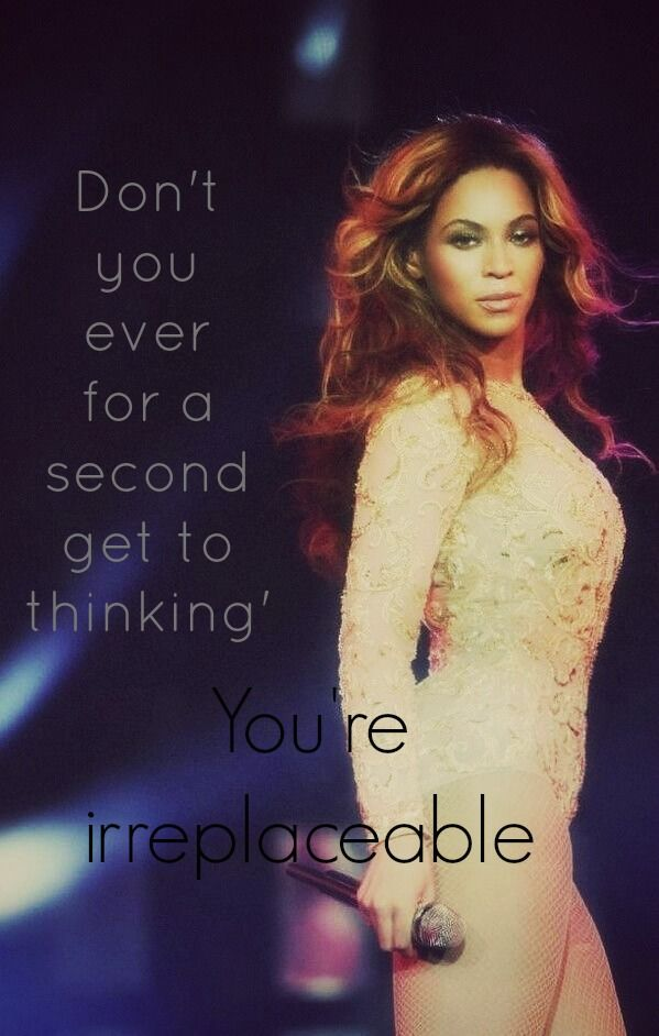 Beyonce Knowles - Irreplaceable Lyrics | MetroLyrics