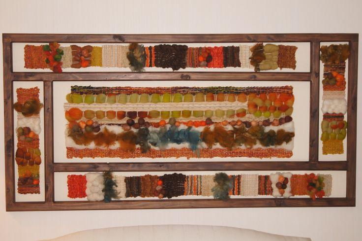 telar de 0.90 x 1.80 madera nativa