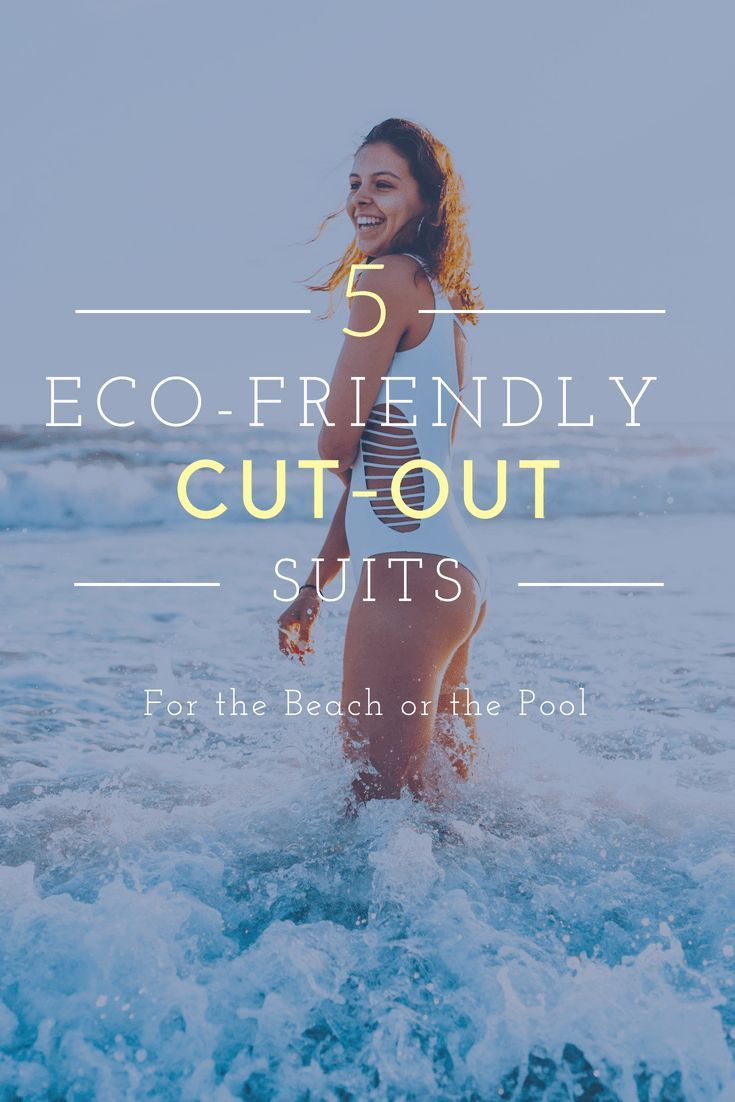 6943895cc6 5 Eco-Friendly Cut-Out Swimsuits to Bring Out this Summer