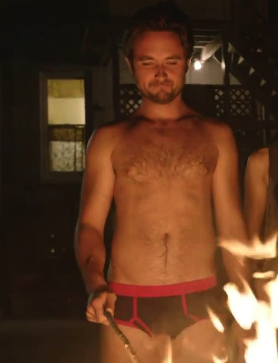 """""""Burning my clothes..."""" Steve Wilton/Jimmy Lishman (Showtime's Shameless) played by Justin Chatwin"""