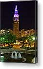 Teminal Tower was purple May 10th for World Lupus Day! (picture by friend, Robert Harmon)