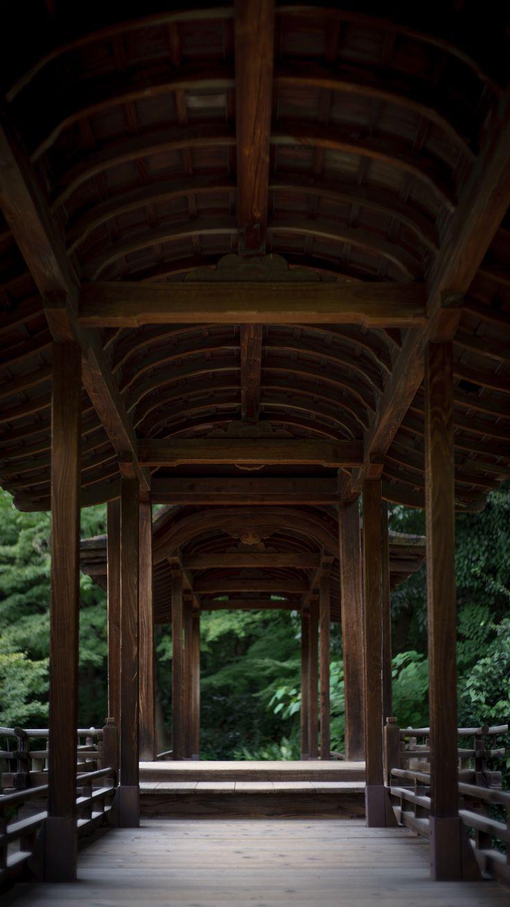 名勝 渉成園 回棹廊 KYOTO, JAPAN