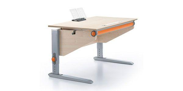 #moll #Winner #Classic #orange #Kinderschreibtisch #growingtogether #healthyfurniture #kidsdesign