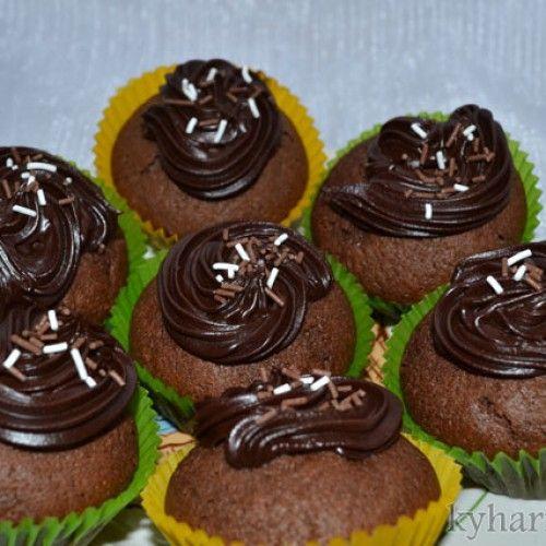Вкусные кексы на сметане и украшение кексов