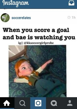 I literally laughed out loud just now. My bæ is soccer lol