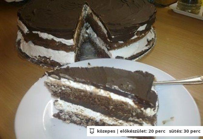 Kinder pingui torta