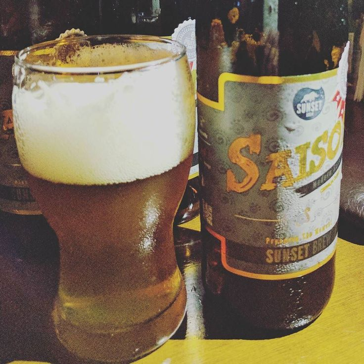 Saído time! #beer #cerveja #sunsetbrew