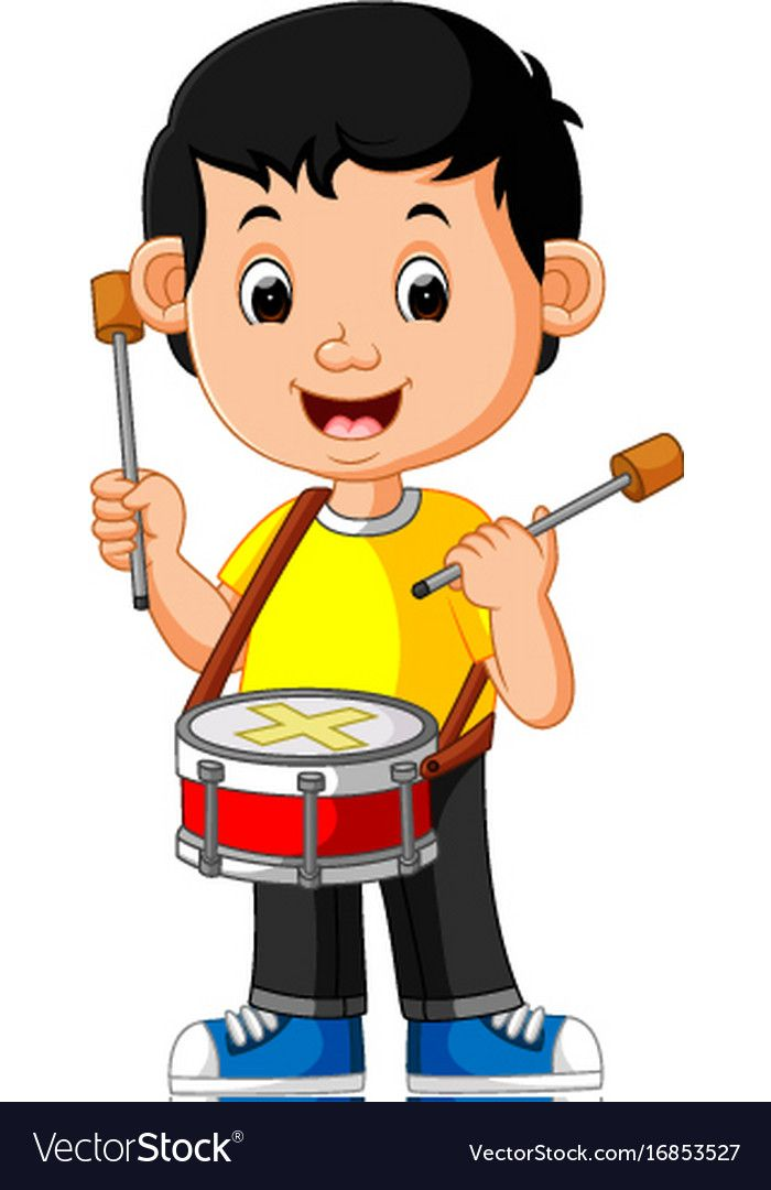 After School Fall Classes For Kids Virginia, Children - Marching Band  Cartoon - Free Transparent PNG Clipart Images Download