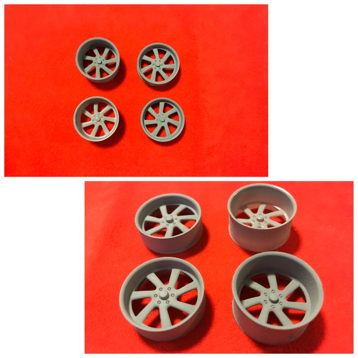 "Legendary Miniatures plastic US MAGS "" Outlaw U461"" edition 1/24 scale replica wheels"