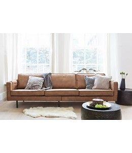 Be Pure Home Rodeo Sofa 3 Sitzer Cognac