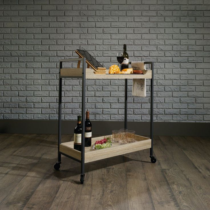 Sauder North Avenue Serving Cart | from hayneedle.com
