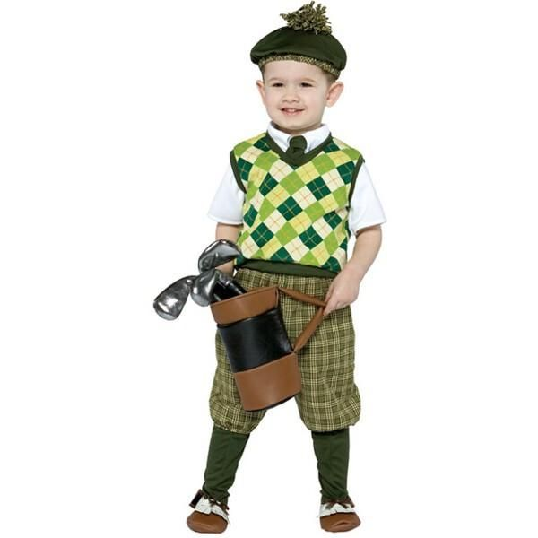 Our toddler golfer outfit is one adorable children's Halloween costume. This…