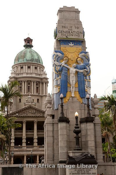 War Memorial, City Hall, Durban. We visit Durban on our arts and cultures tours…
