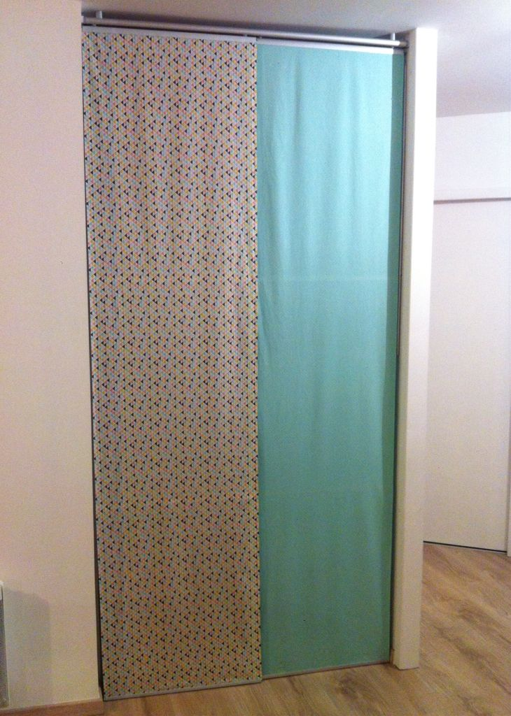 24 best porte de garde-robe images on Pinterest Sliding closet - roulette porte placard coulissant