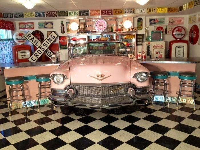 25 best ideas about vintage diner on pinterest 1950s for Decoration garage