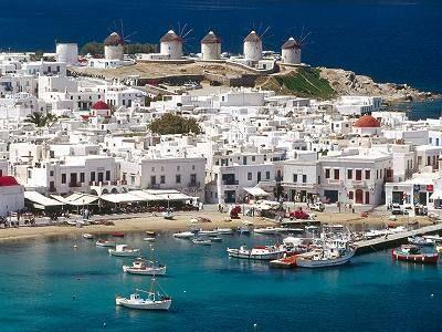エーゲ海 ミコノス島