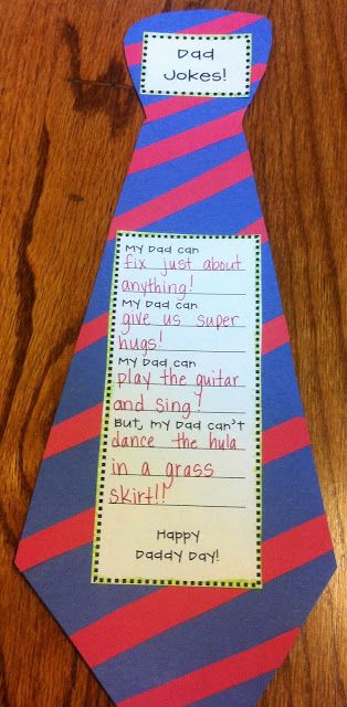Teacher Idea Factory: FATHER'S DAY PACKET + GIFT IDEA
