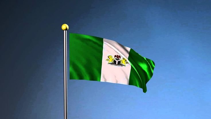 Nigeria Flag with the National Anthem - Maya nCloth Animation ...