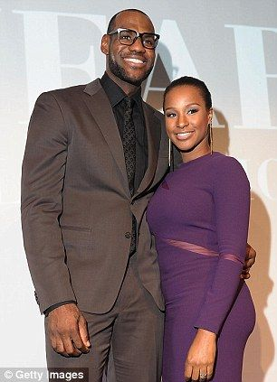 A couple since high school and the parents of two young boys, right, LeBron James and Savannah Brinson are finally getting married this week...
