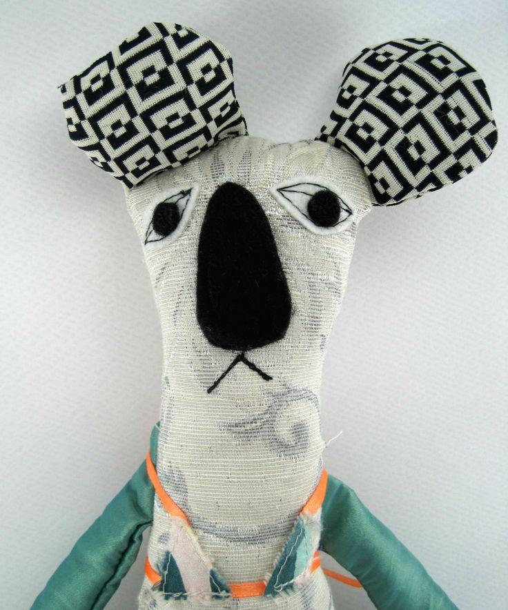 Penny the Koala- Stuffed Toys- Child Friendly- Fabric Koala Doll by JazzyRaccoon on Etsy