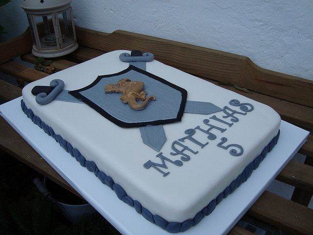 Knights cake | Flickr - Photo