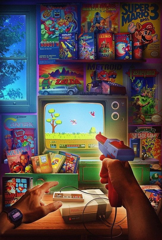 Wallpaper Iphone Android Background Followme Retro Gaming Art Classic Video Games Gaming Wallpapers