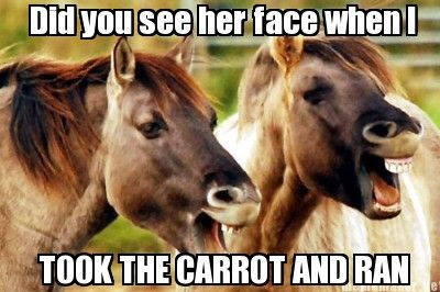 did you see her face???