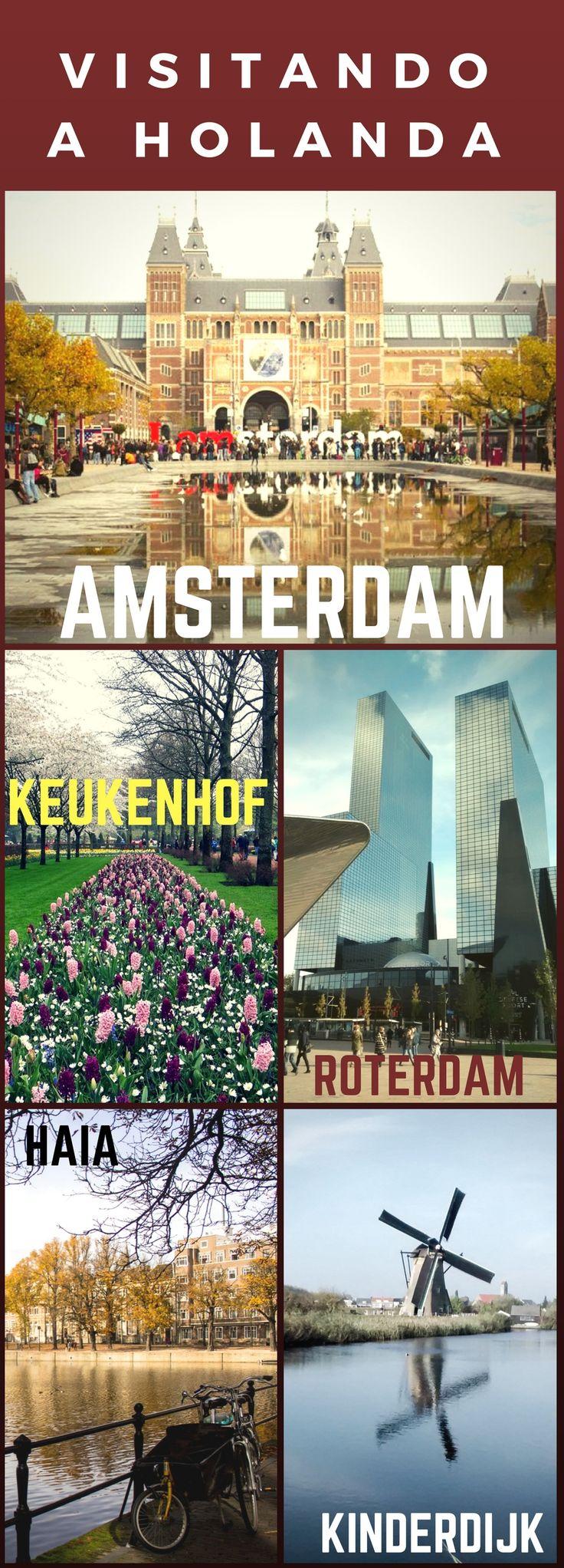 O que fazer e onde ficar em Amsterdã, Haia, Kinderdijk e Roterdã, na Holanda. Fizemos um rápido tour de 5 dias com criança.  Bônus: Keukenhof, o jardim das Tulipas