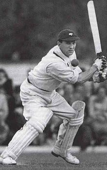 Sir Len Hutton - Captain of England during the Fifth Test Match at the Oval, during the Ashes series against Australia in the heady summer of 1938. Hutton made 364 (caught: Hassett bowled: O'Reilly) - still the highest individual Test score by an English batsman - in England's team total of 903 - 7 (declared). England won the match by an innings and 579 runs.