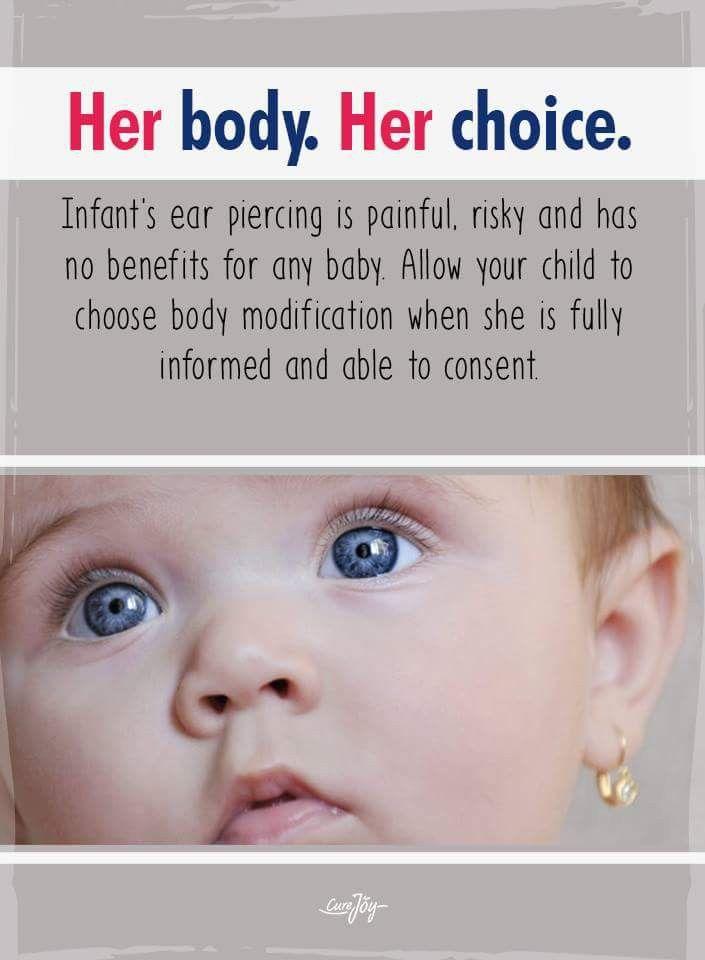 Pin By Shidoshi On Piercing Memes Infant Ear Bodily Autonomy Body Modifications