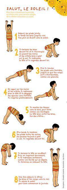 Le petit yoga : Salut le soleil ! à - L'atelier Pomme d'Api pour enfants - Familiscope