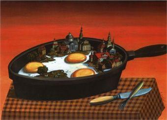 Яичница с забором  Valentin Gubarev