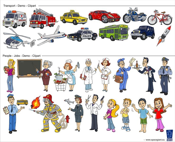 Clipart Collections by Space Giant - www.spacegiant.eu