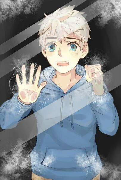 I'm non sure about the anime... Sorry!<<<<<.....Dude.....how do you not recognize Jack Frost from Rise of the Guardians!?!?!?