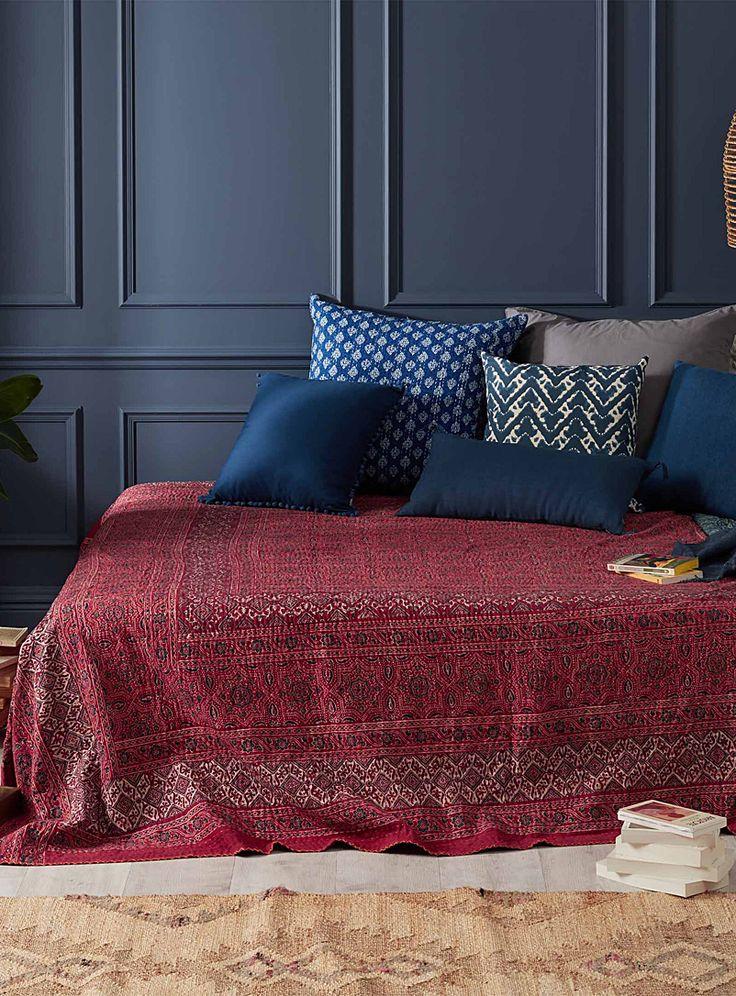 Les 25 meilleures id es de la cat gorie couvre lit sur pinterest couvre lit gris chambre - Couvre lit conforama ...