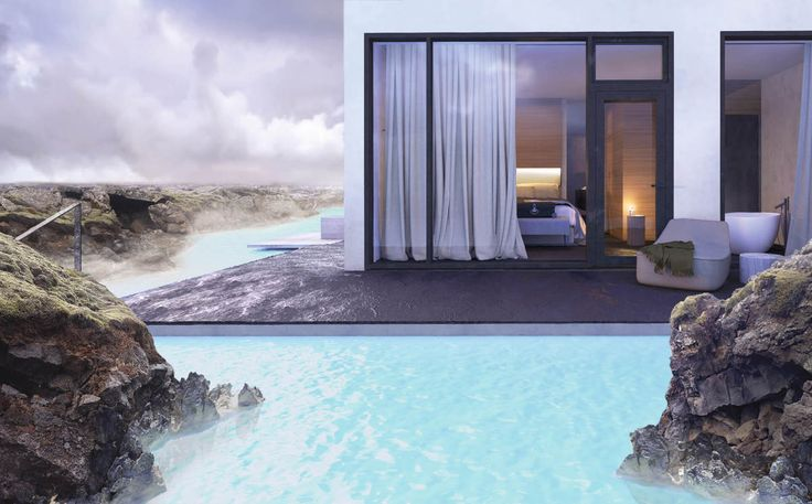 This Unreal Hotel Is Built on Iceland's Blue Lagoon - UltraLinx