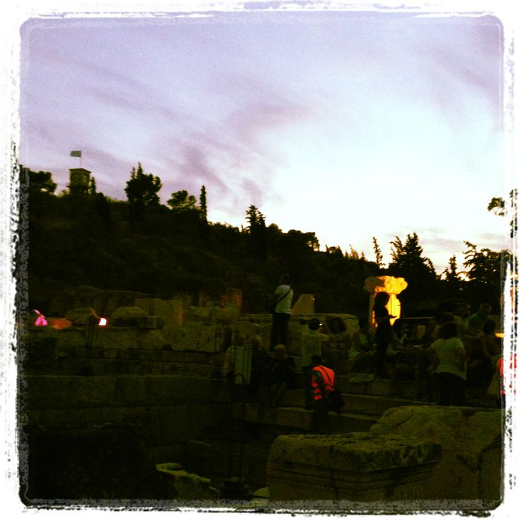 The festival _at the Archaeological site