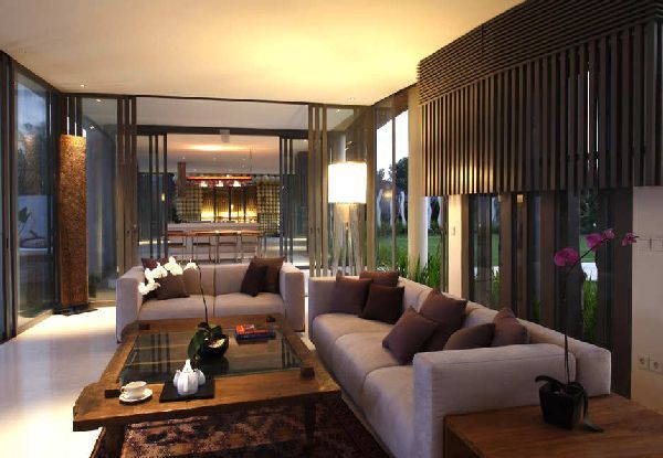 Modern And Traditional Balinese House Design Ideas Kayu Aga House By Yoka Sara Picture-Interior Design