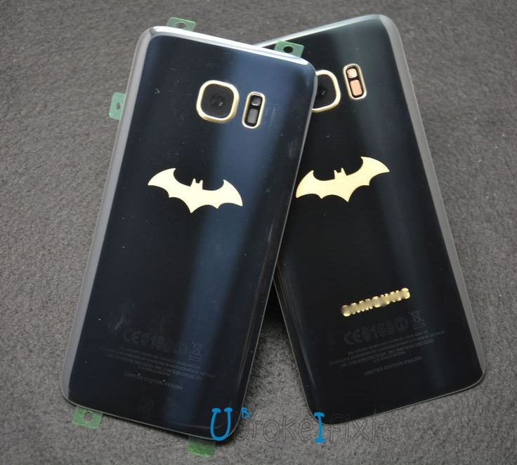 New Rear Panel Battery Cover For Samsung Galaxy S7 Edge Batman Limited Editon #Unbranded