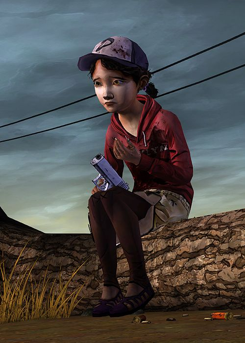 the walking dead clementine gif - Google Search | The ...