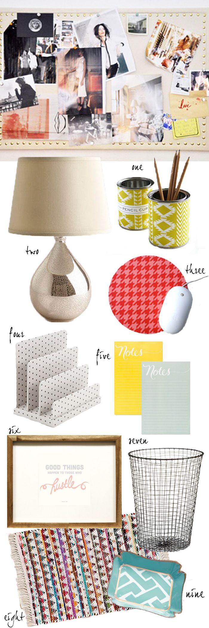 Bargain Bin: The Stylish #Cubicle http://designstiles.me/