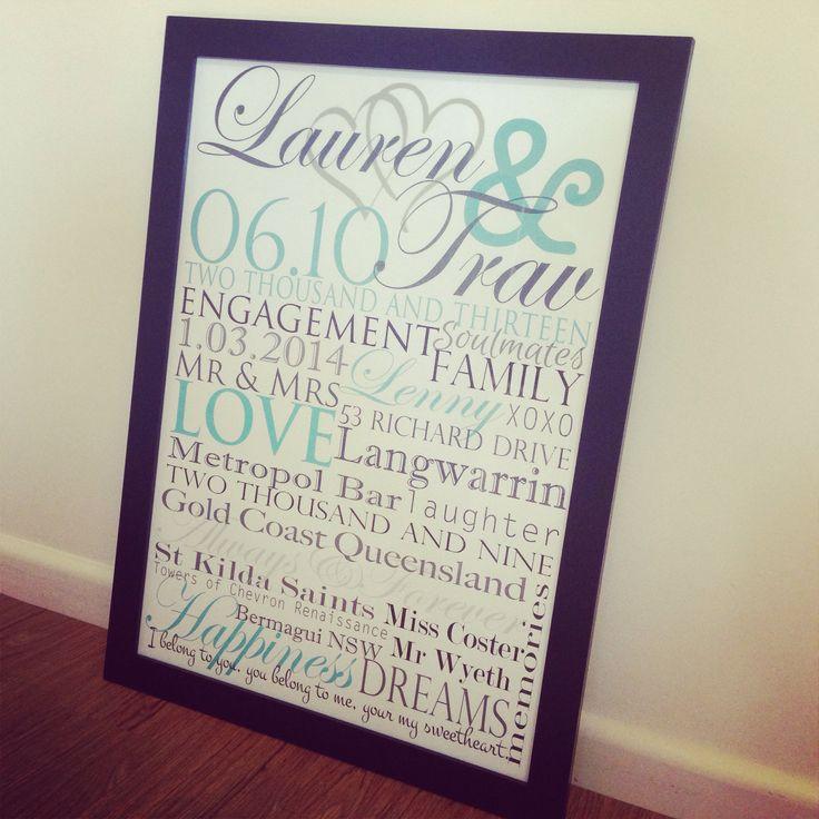 Gorgoeus engagement print! Created by www.memoriesonwalls.com #memoriesonwalls